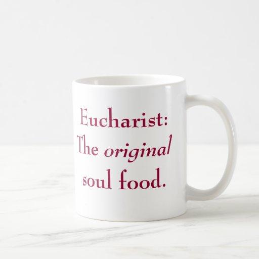 Euchaarist: La comida original del alma (taza)