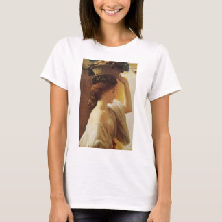 Eucharis A Girl with a Basket of Fruit - Leighton T-Shirt