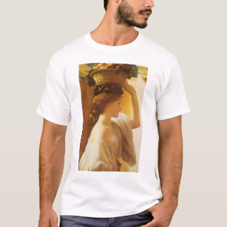 Eucharis - Girl With a Basket of Fruit by Leighton T-Shirt