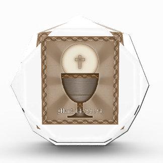 Eucharist Acrylic Award