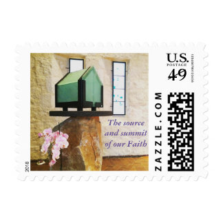 Eucharist in the Tabernacle Postage