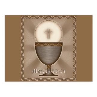 Eucharist Postcard