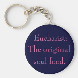 Eucharist: TOSF - Key Chain - Pink/Navy Blue