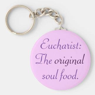 Eucharist: TOSF - Key Chain - Pink/Purple