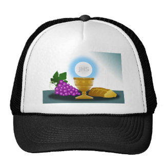 eucharist trucker hat