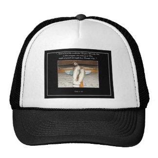 Eucharistic Crucifix Trucker Hat