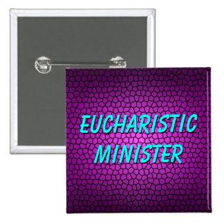 EUCHARISTIC MINISTER PINBACK BUTTON