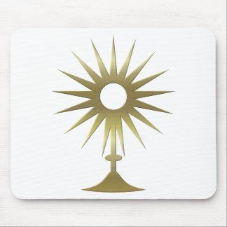Eucharistic Monstrance Mouse Pad