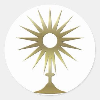 Eucharistic Monstrance Stickers