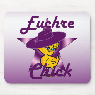 Euchre Chick #9 Mouse Pad