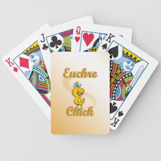 Euchre Chick Bicycle Playing Cards