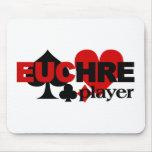 Euchre Player mousepad