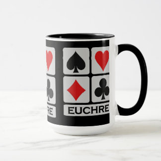 Euchre Player mug - choose style & color