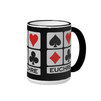 Euchre Player mug - choose style & color