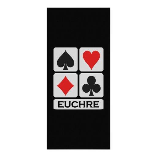 Euchre rack card