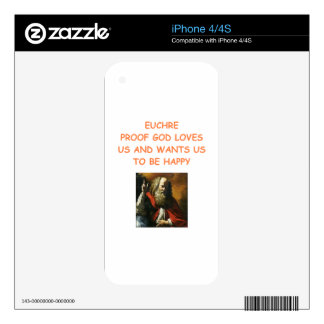 euchre skins for the iPhone 4