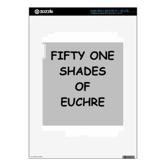 euchre decal for iPad 3
