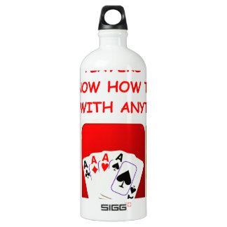 euchre water bottle