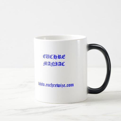 EUCHRE WIZE Mug