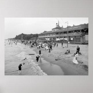 Euclid Beach, Cleveland, 1905 Póster