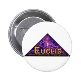 Euclid Program Logo Pinback Buttons