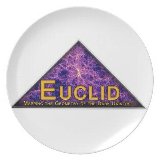 Euclid Program Logo Party Plate