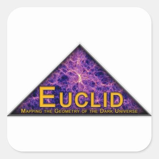 Euclid Program Logo Square Sticker