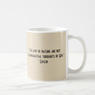 Euclid quote 11 oz. mug