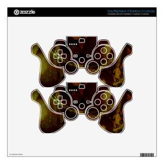 Euclidean Geometry Art PS3 Controller Skins