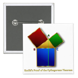 Euclid's Proof of the Pythagorean Theorem. Pins