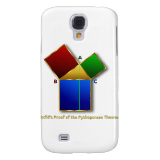 Euclid's Proof of the Pythagorean Theorem. Galaxy S4 Cover