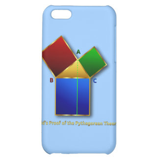 Euclid's Proof of the Pythagorean Theorem. Case For iPhone 5C