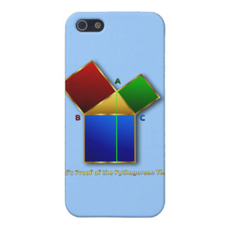 Euclid's Proof of the Pythagorean Theorem. iPhone SE/5/5s Case