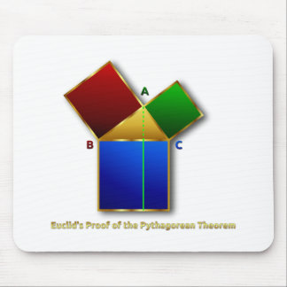 Euclid's Proof of the Pythagorean Theorem. Mouse Pad