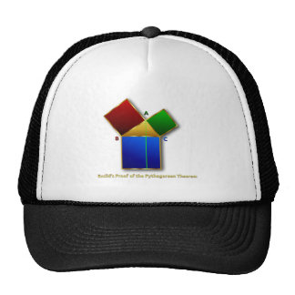 Euclid's Proof of the Pythagorean Theorem. Trucker Hat