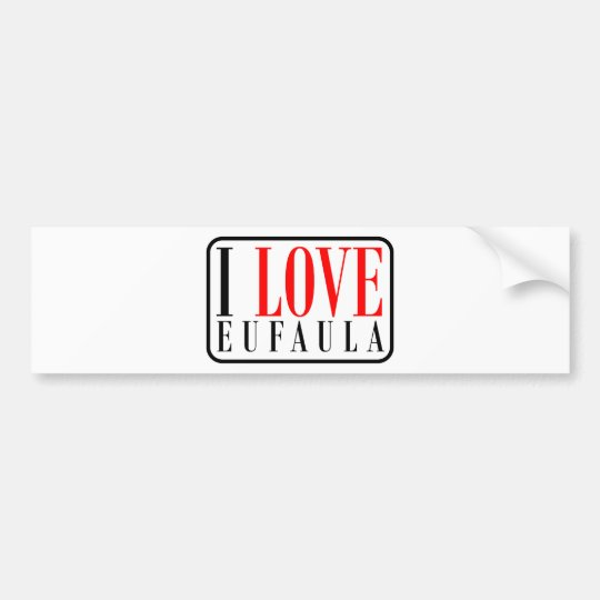 Eufaula, Alabama Bumper Sticker
