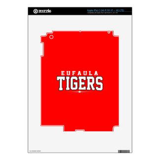 Eufaula High School; Tigers Skins For iPad 3