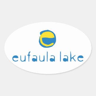 Eufaula Lake Oval Sticker