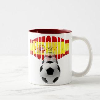 Euforia ! España Campeona Del Mundo Two-Tone Coffee Mug