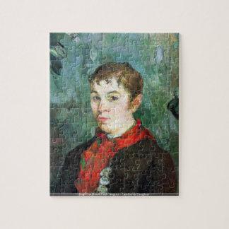 Eugène Enrique Paul Gauguin - hija de los propiet Puzzle Con Fotos