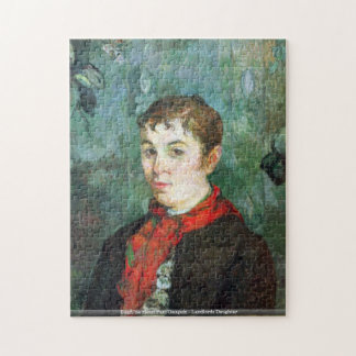 Eugène Enrique Paul Gauguin - hija de los propiet Puzzle