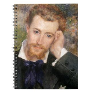 Eugène Murer - Oil on Canvas Notebook