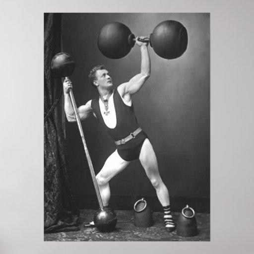 Eugen Sandow - Father of Modern Bodybuilding Poster