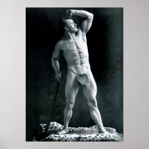Eugen Sandow - padre del Bodybuilding moderno Póster