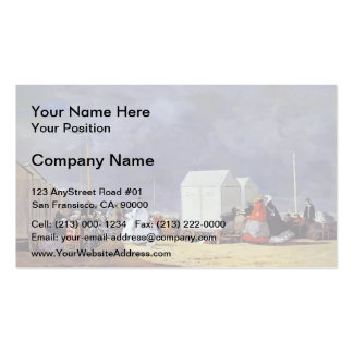 Eugene Boudin- Approaching Storm Double-Sided Standard Business Cards (Pack Of 100)
