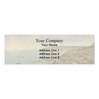 Eugene Boudin- Atlantic coast near Benerville Business Card Templates