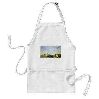 Eugene Boudin Beach At Trouville Adult Apron
