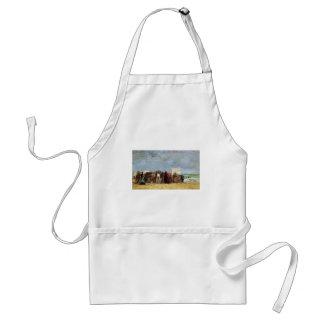 Eugene Boudin- Beach Scene, Trouville Aprons