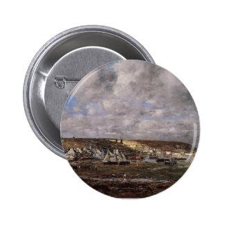 Eugene Boudin- Camaret, Low Tide Pins