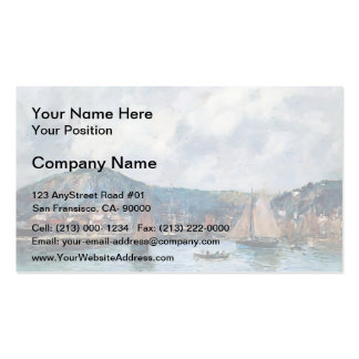 Eugene Boudin- Cherbourg Double-Sided Standard Business Cards (Pack Of 100)